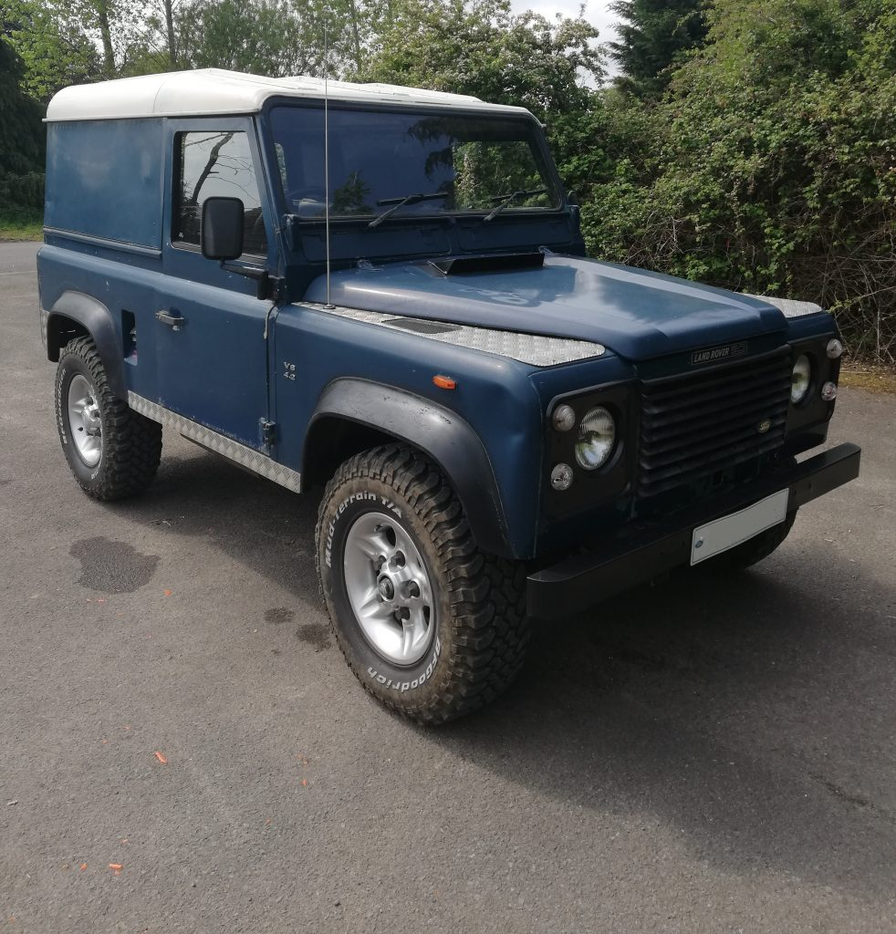 "Land Rover 4.2 Hard Top "" The Sleeper """